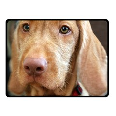 Vizsla second Fleece Blanket (Small)