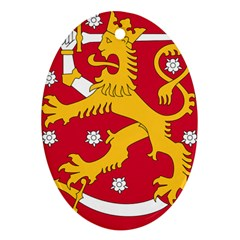 Coat of Arms of Finland Ornament (Oval)