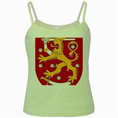 Coat of Arms of Finland Green Spaghetti Tank