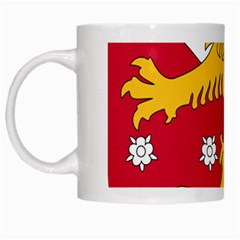 Coat of Arms of Finland White Mugs