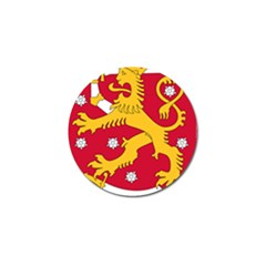 Coat of Arms of Finland Golf Ball Marker