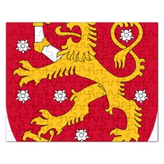 Coat of Arms of Finland Rectangular Jigsaw Puzzl