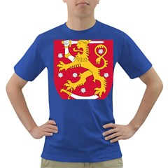 Coat of Arms of Finland Dark T-Shirt