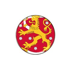Coat of Arms of Finland Hat Clip Ball Marker (4 pack)