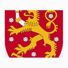Coat of Arms of Finland Small Glasses Cloth