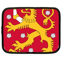 Coat of Arms of Finland Netbook Case (Large)