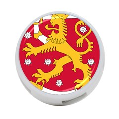 Coat of Arms of Finland 4-Port USB Hub (Two Sides)
