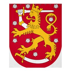Coat of Arms of Finland Shower Curtain 60  x 72  (Medium)