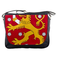 Coat of Arms of Finland Messenger Bags