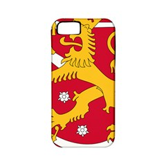 Coat of Arms of Finland Apple iPhone 5 Classic Hardshell Case (PC+Silicone)
