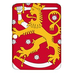 Coat of Arms of Finland Samsung Galaxy Tab 3 (10.1 ) P5200 Hardshell Case