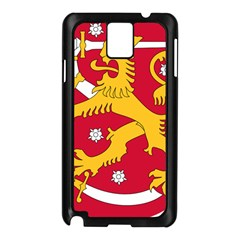 Coat of Arms of Finland Samsung Galaxy Note 3 N9005 Case (Black)