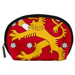 Coat of Arms of Finland Accessory Pouches (Large)
