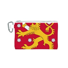 Coat of Arms of Finland Canvas Cosmetic Bag (S)