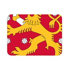 Coat Of Arms Of Finland Double Sided Flano Blanket (mini)