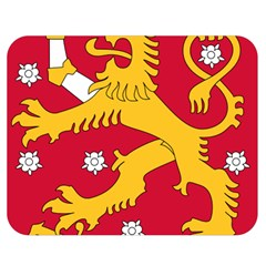 Coat of Arms of Finland Double Sided Flano Blanket (Medium)
