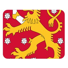 Coat of Arms of Finland Double Sided Flano Blanket (Large)