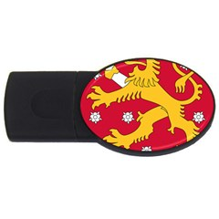 Coat of Arms of Finland USB Flash Drive Oval (2 GB)