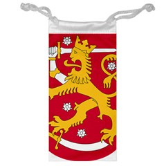 Coat of Arms of Finland Jewelry Bag