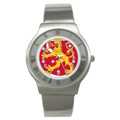 Coat of Arms of Finland Stainless Steel Watch