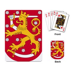 Coat of Arms of Finland Playing Card