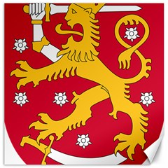 Coat of Arms of Finland Canvas 16  x 16