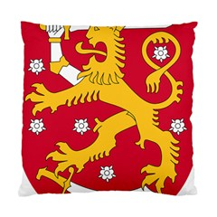Coat of Arms of Finland Standard Cushion Case (One Side)
