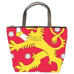 Coat of Arms of Finland Bucket Bags
