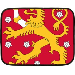 Coat of Arms of Finland Double Sided Fleece Blanket (Mini)