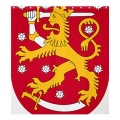 Coat of Arms of Finland Shower Curtain 66  x 72  (Large)