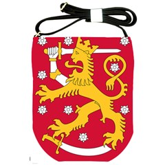 Coat of Arms of Finland Shoulder Sling Bags