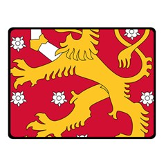 Coat of Arms of Finland Fleece Blanket (Small)