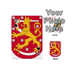 Coat of Arms of Finland Playing Cards 54 (Mini)
