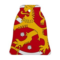 Coat of Arms of Finland Bell Ornament (Two Sides)