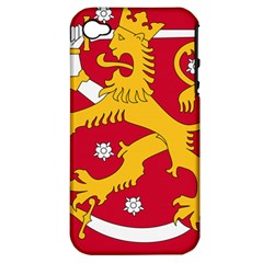 Coat of Arms of Finland Apple iPhone 4/4S Hardshell Case (PC+Silicone)