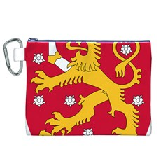 Coat of Arms of Finland Canvas Cosmetic Bag (XL)