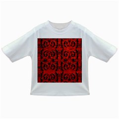 3d Metal Pattern On Wood Infant/toddler T Shirts