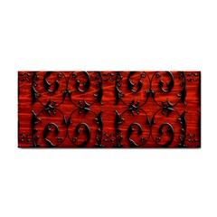 3d Metal Pattern On Wood Cosmetic Storage Cases
