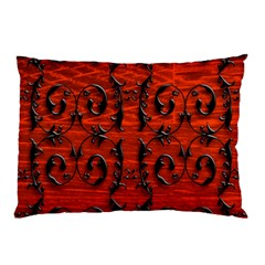 3d Metal Pattern On Wood Pillow Case