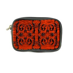 3d Metal Pattern On Wood Coin Purse