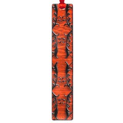 3d Metal Pattern On Wood Large Book Marks