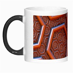 3d Abstract Patterns Hexagons Honeycomb Morph Mugs
