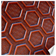 3d Abstract Patterns Hexagons Honeycomb Canvas 20  X 20