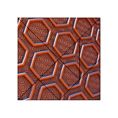 3d Abstract Patterns Hexagons Honeycomb Acrylic Tangram Puzzle (4  x 4 )