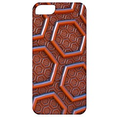 3d Abstract Patterns Hexagons Honeycomb Apple Iphone 5 Classic Hardshell Case