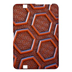 3d Abstract Patterns Hexagons Honeycomb Kindle Fire Hd 8 9