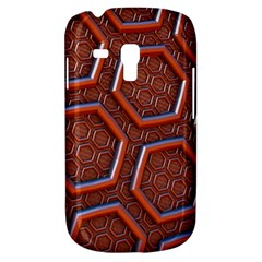 3d Abstract Patterns Hexagons Honeycomb Galaxy S3 Mini