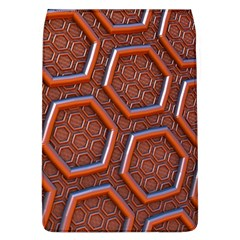 3d Abstract Patterns Hexagons Honeycomb Flap Covers (l)