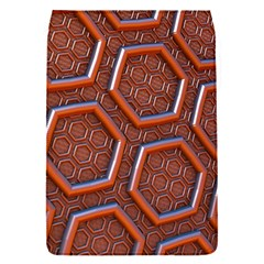 3d Abstract Patterns Hexagons Honeycomb Flap Covers (s)