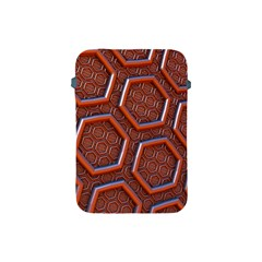 3d Abstract Patterns Hexagons Honeycomb Apple Ipad Mini Protective Soft Cases